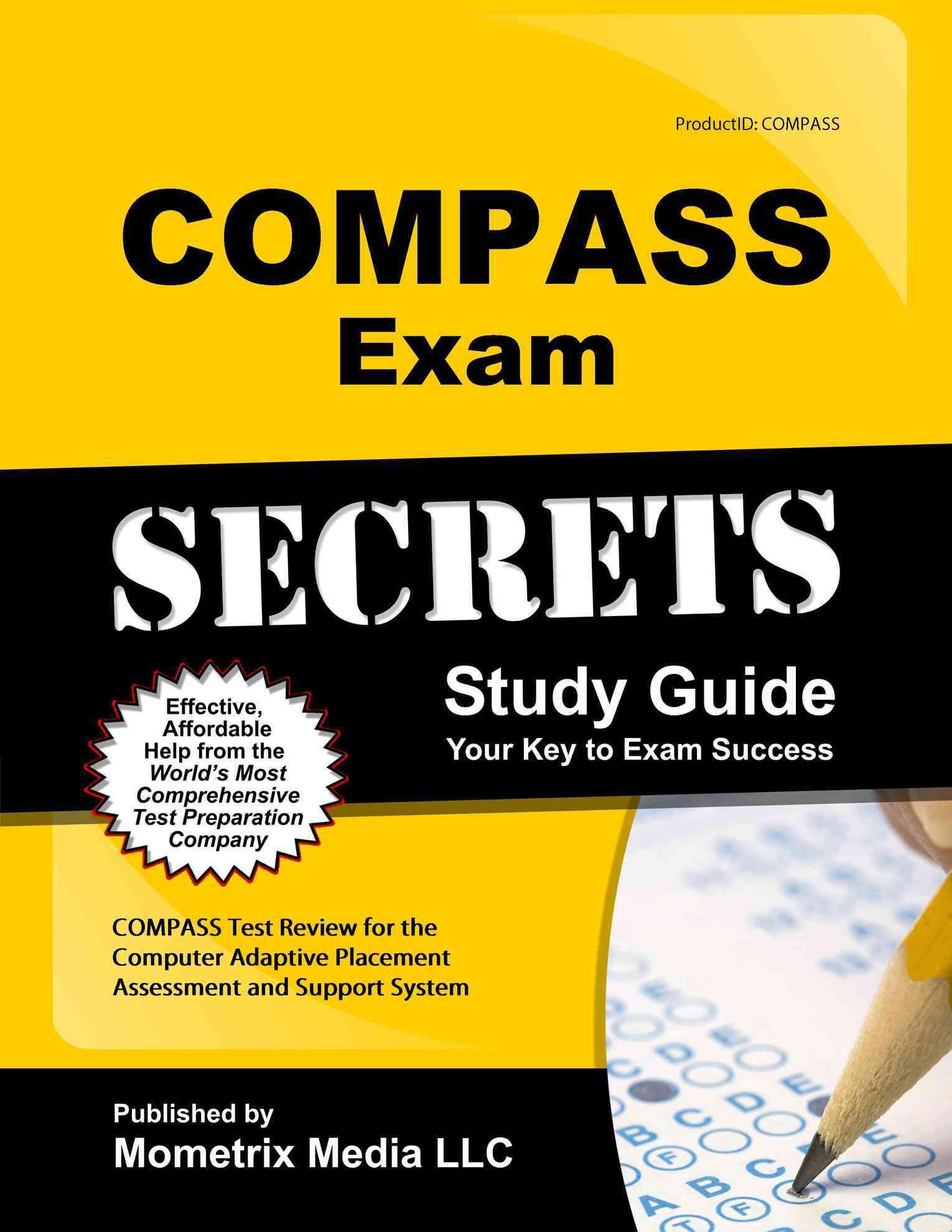 Compass Exam Secrets Study Guide By Compass Exam Secrets (EDT)